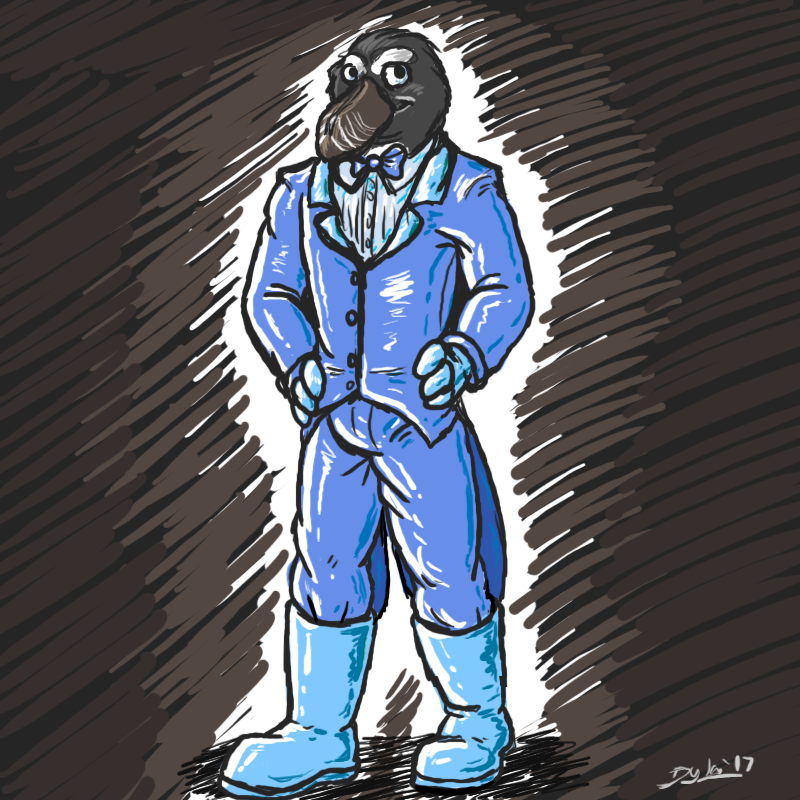 [by Kenzik] Rubber Tux'd but Not Quite a Penguin