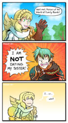Ephraim Is Not Dating His Sister