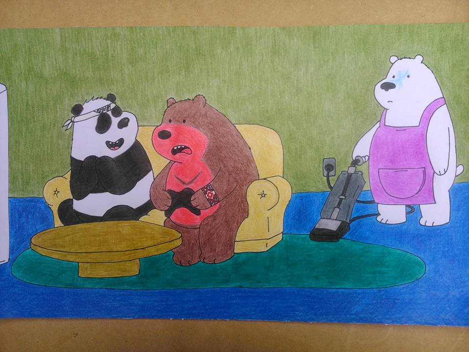 Most recent image: We Bare Bears