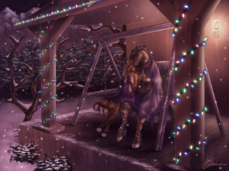 Commission - Winter's Warmth