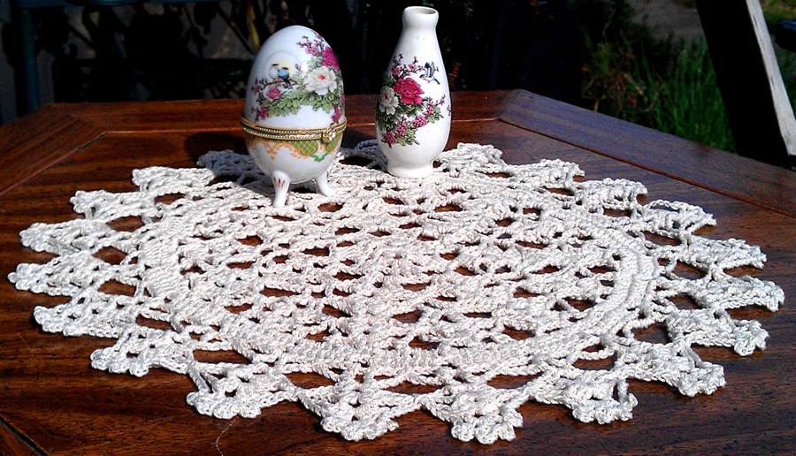 Most recent image: Doily