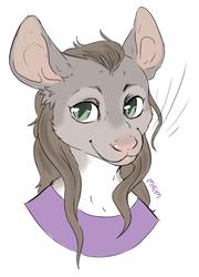 Celine portrait by Maim