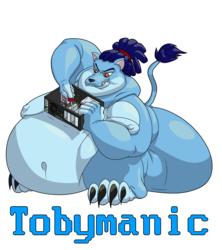 >>C<< Tobymanic Badge