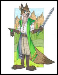 Samir, Coyote Warlock