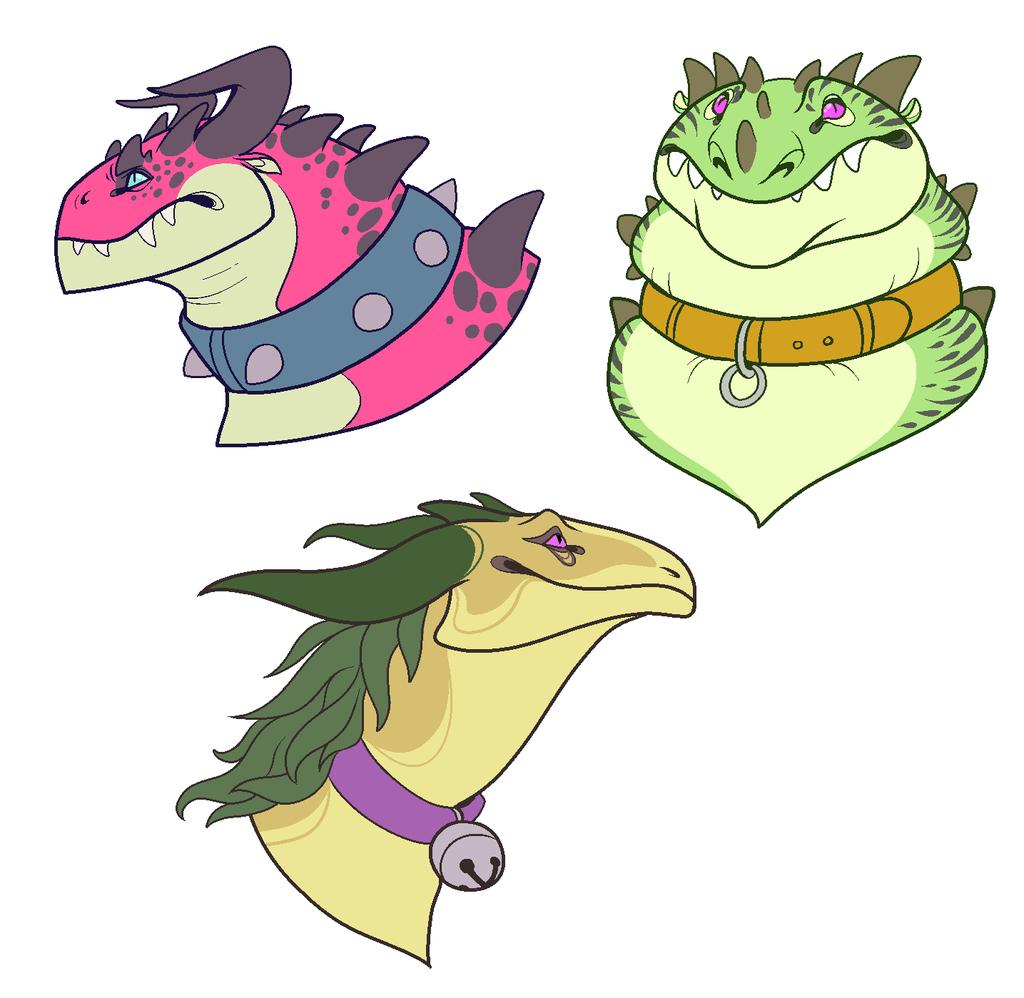 Fruit Dragons