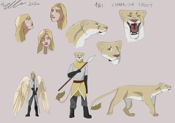 Lioness demigod