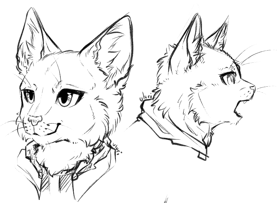 Sketch Headshots