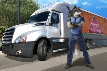 Keep on trucking... to work