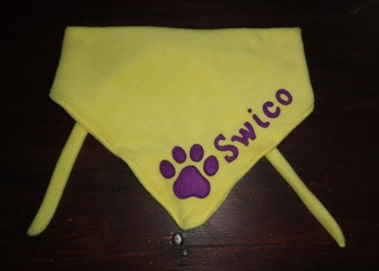 Fursuiter scarf for Swico Tary