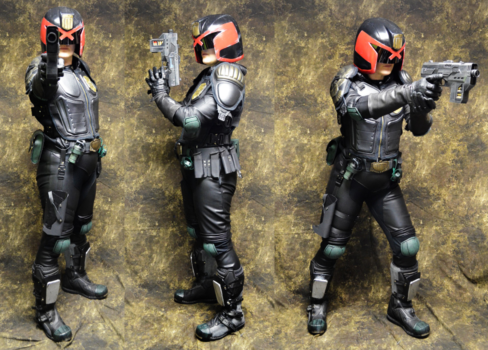 Most recent image: Female Judge - Dredd cosplay 2