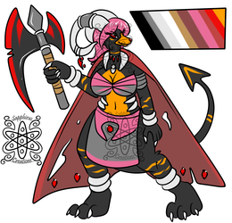 Female Warlord Houndoon +Design 4 Sale+