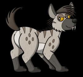 What What Hyena Butt