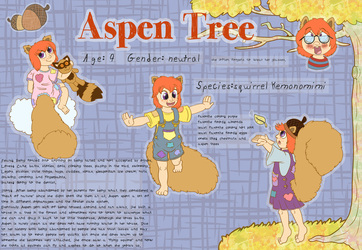Aspen Tree reference sheet (f5)