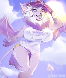Xera in the sky with Dinoaur [sktch-cm]