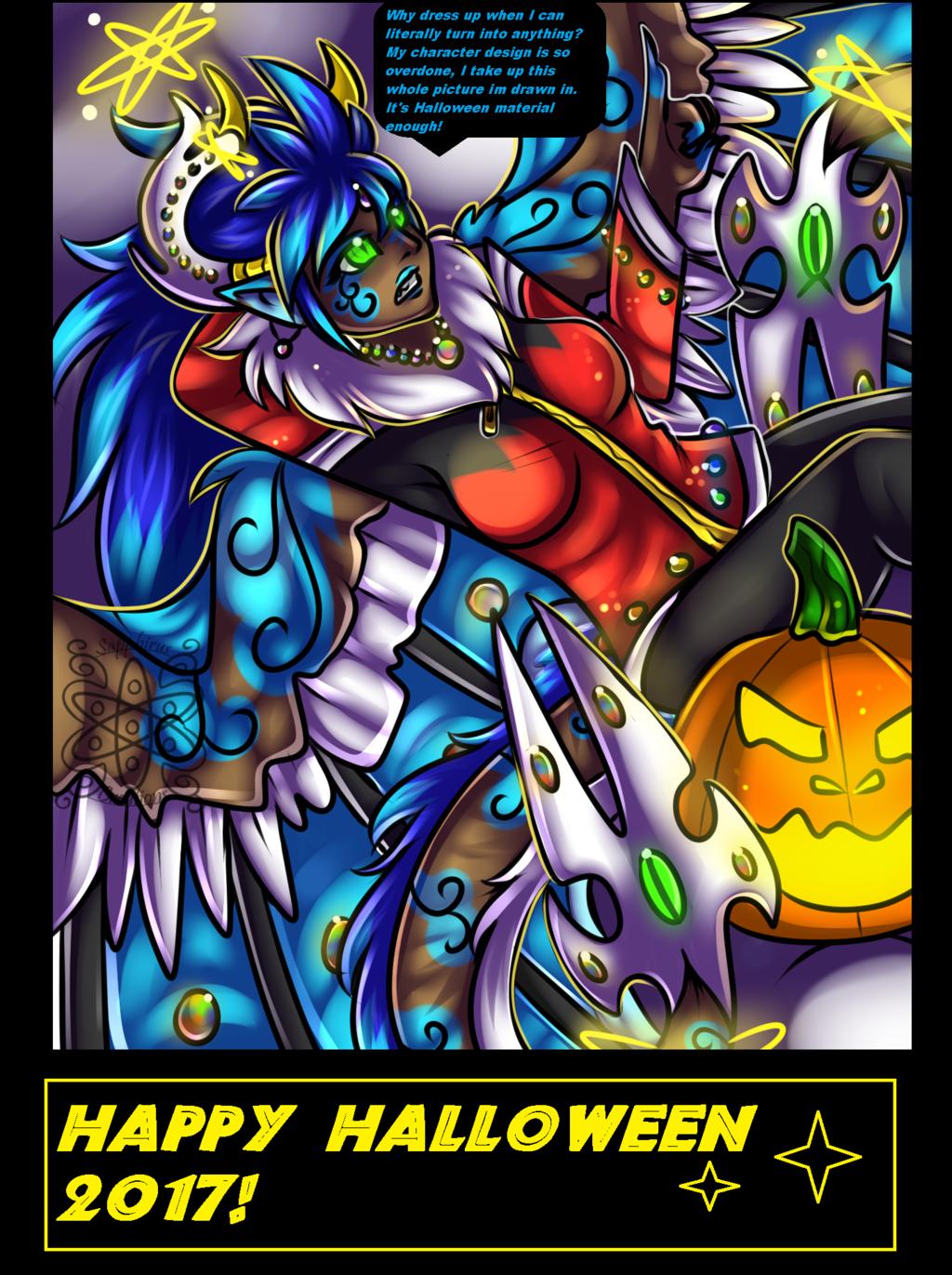 Happy Halloween +Mary Sue Edition+