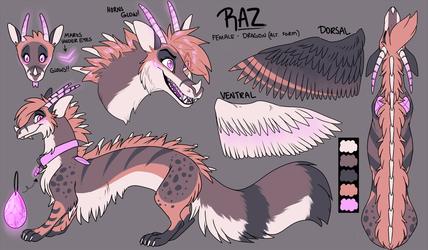 Raspberry Swirl Dragon Ref