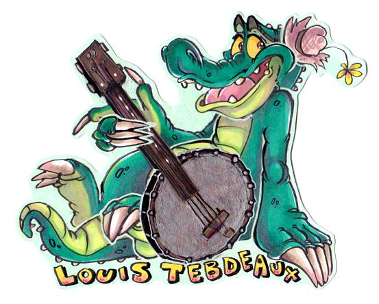Louis Tebdeaux Badge