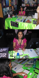 My Auckland Drawfest Stall at the Armageddon Expo 2013