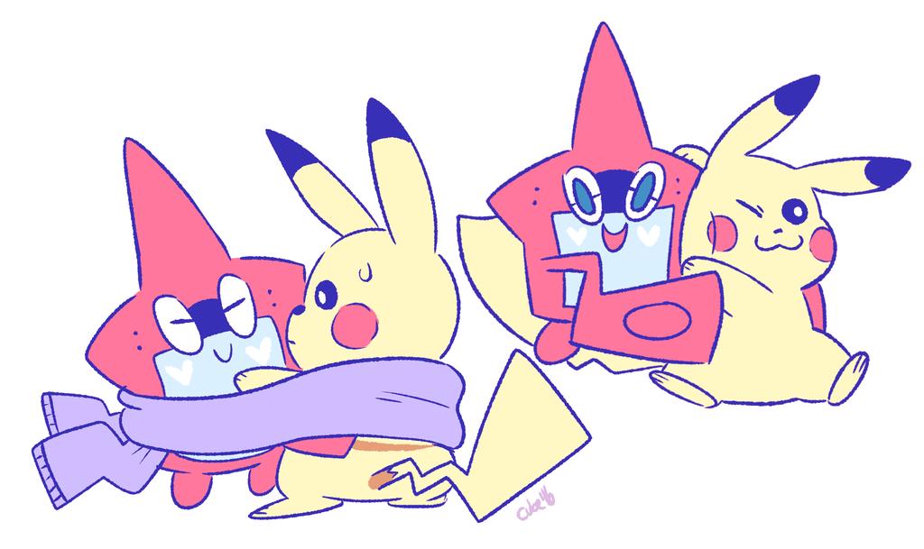 electric mascots