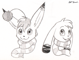 Coffee Shop Pencil Headshots for Erakir