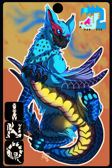 -Commission for Dargon- Nargacon badge