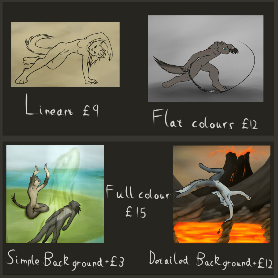 Commissions Pricing Sheet