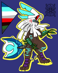 Ice Male Silvally +Design+ (SOLD)