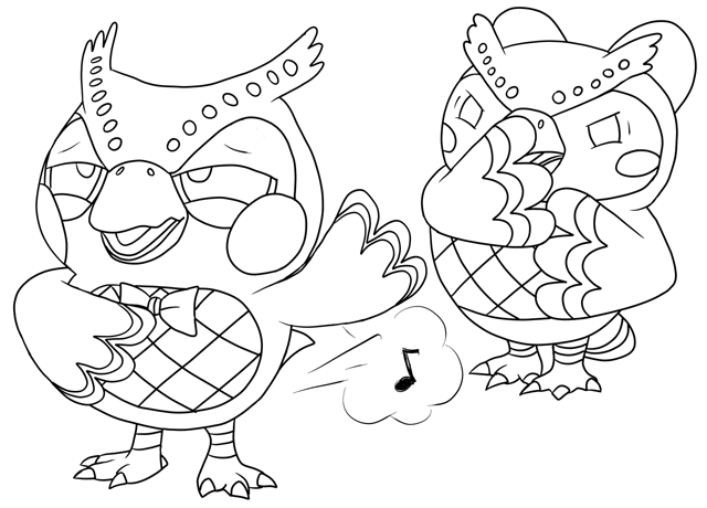 Blathers' Passes Wind