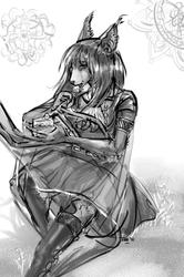 Elli - Ink Sketch