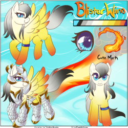 Commission: Blister Wind reference Sheet