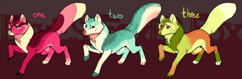 foxes - DFS - $8 USD each