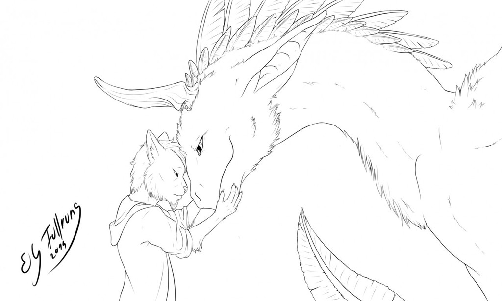 Be true to yourself! (lineart)