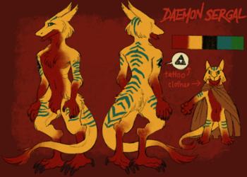Daemon Sergal Reference