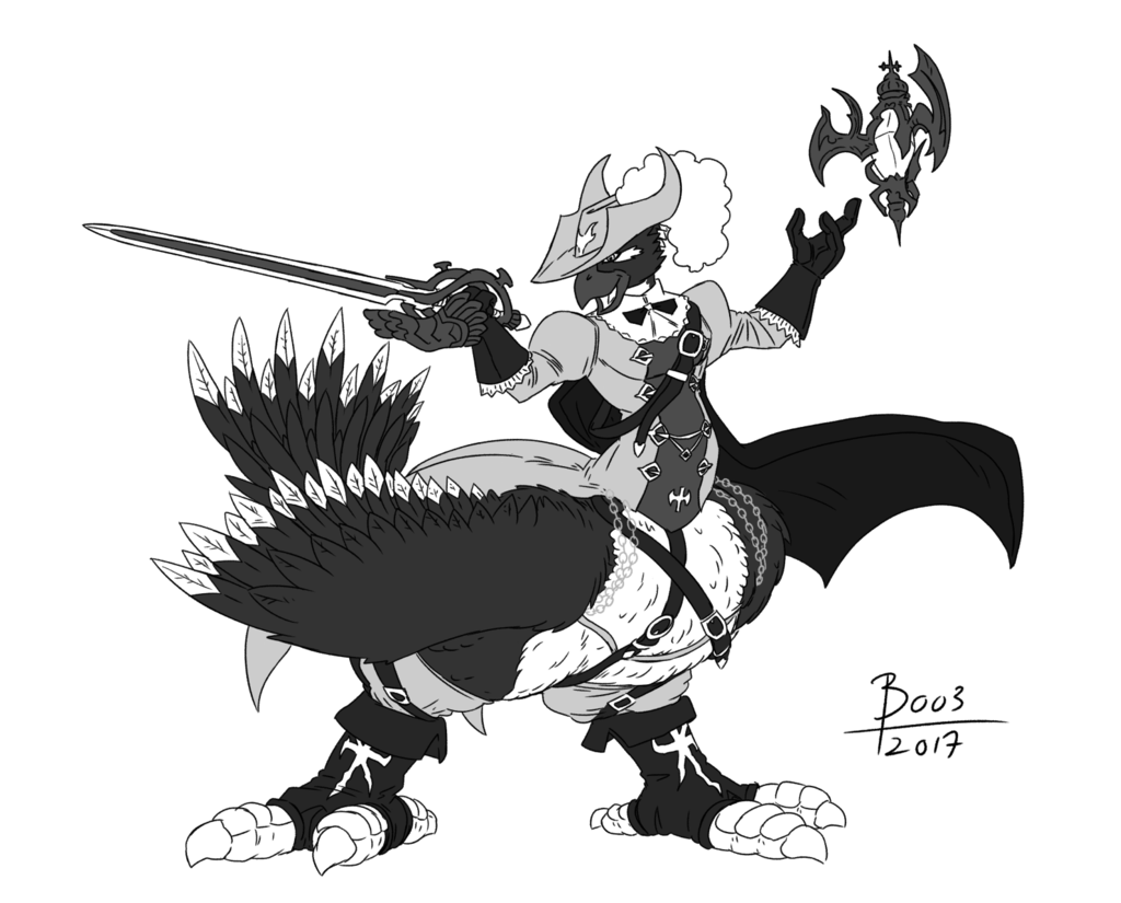 Most recent image: Red (& white & black) Mage [Taross stream comm]