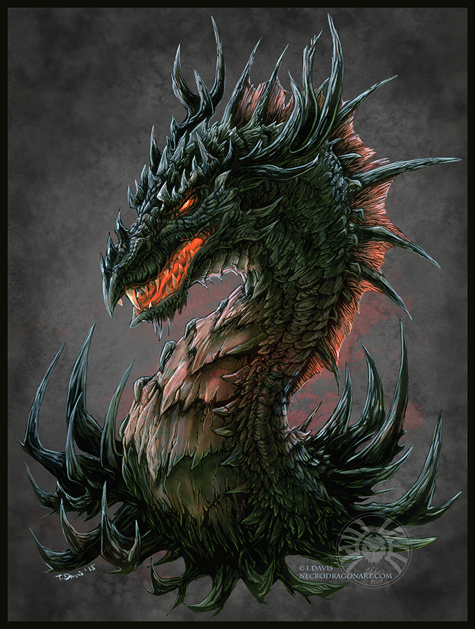 Regal Dragon Coloured Weasyl
