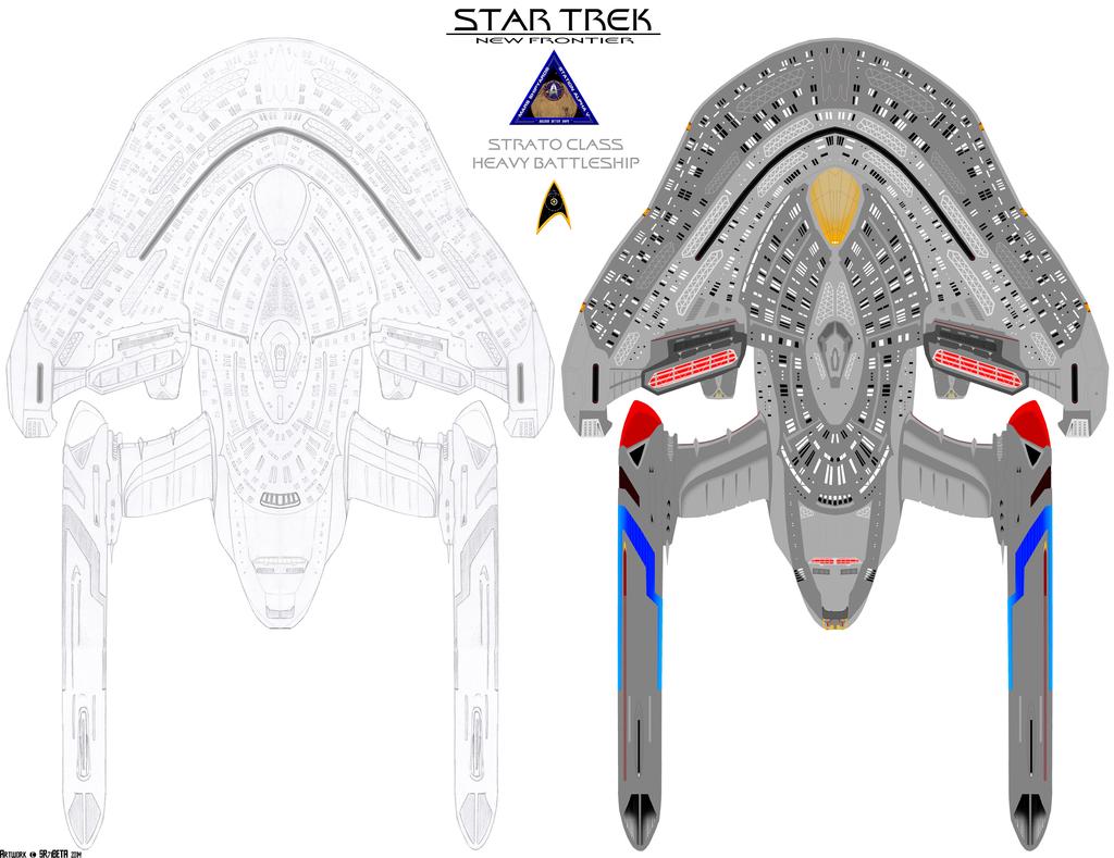 STAR TREK: New Frontier - Strato Class Top Design