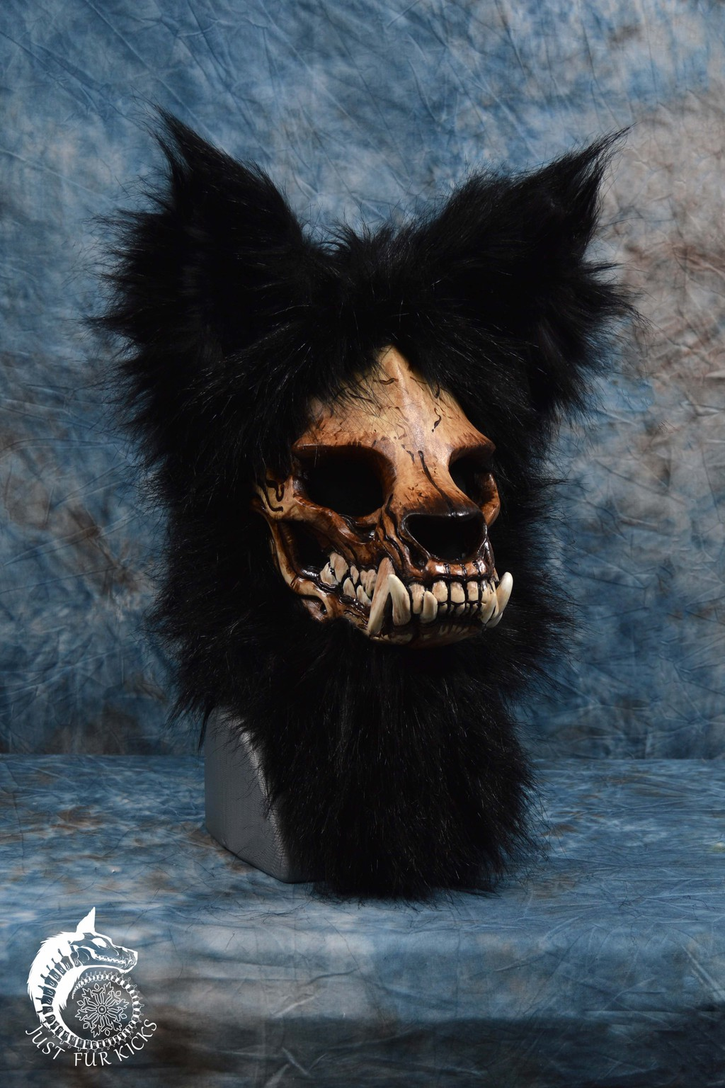 Most recent image: Pre-Made Skull Werewolf Mask (SOLD)