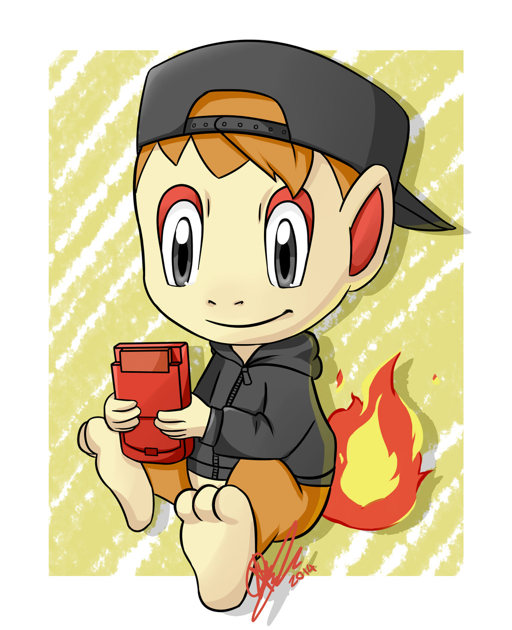 Chimchar commision! <3