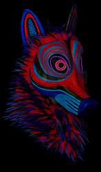 Hypno Coyote mask