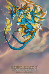 2020 Zodiac Dragons Calendar Gemini