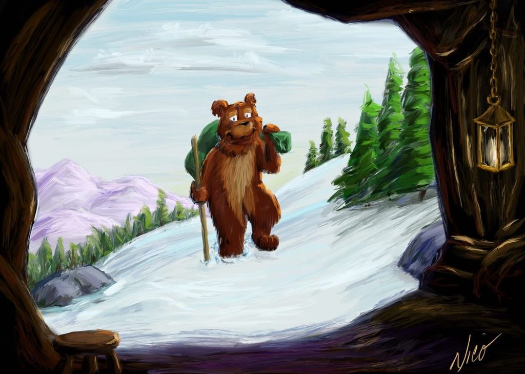 Bear Returning Home