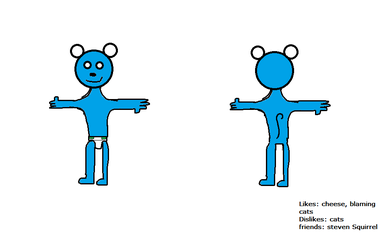 Blue mouse (ref sheet)