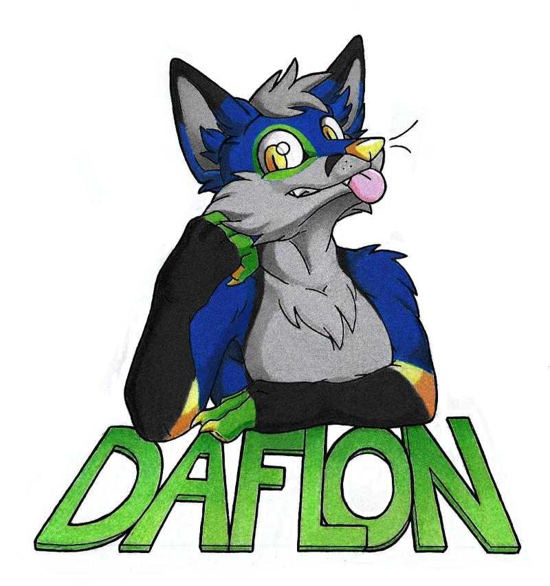 Daflon fox badge