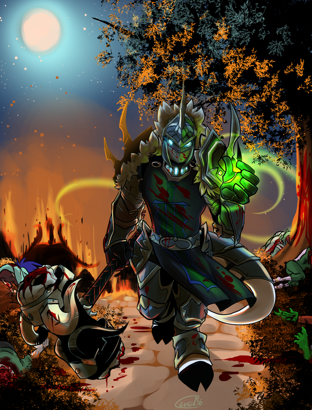 Most recent image: WoW commission - Areniaagn