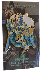 Wild Star Dog Astra Enamel Pin