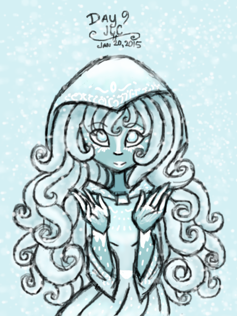 Art Challenge 9 - Human Winter