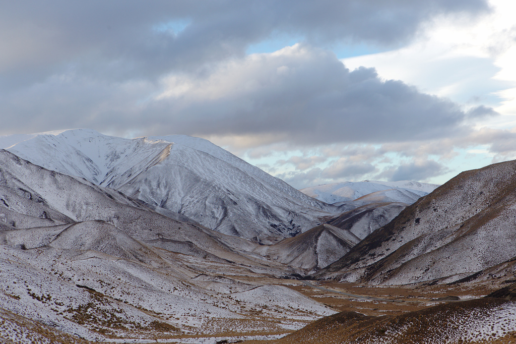 Most recent image: Lindis Pass