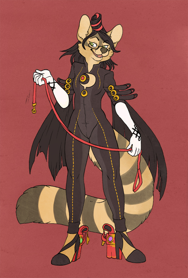 Vlcice as Bayonetta