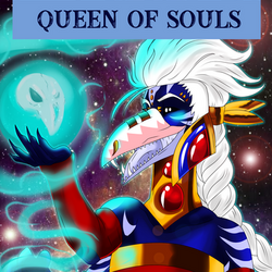 The Uragi Tarot - Queen of Souls