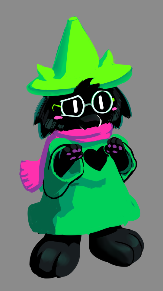 November 10th Ralsei Paint